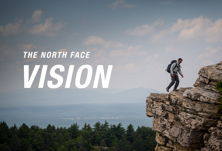 the north face VISION