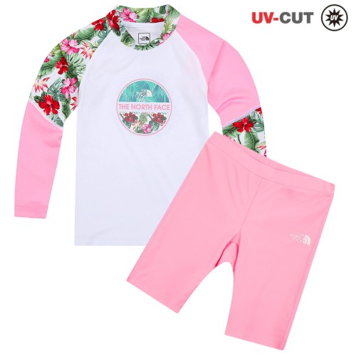 G'S FLOWER POINT RASHGUARD SET