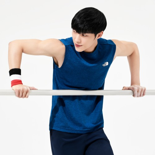 M'S WORK OUT SLEEVELESS
