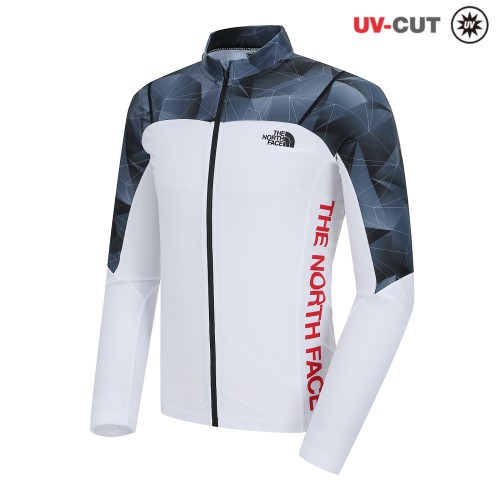 M'S SUPER AQUA RASHGUARD ZIP UP