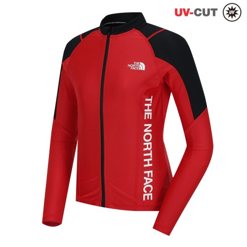 W'S SUPER AQUA RASHGUARD ZIP UP