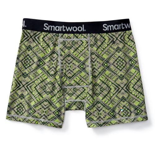 MEN'S MERINO 150 PRINTED BOXER BRIEF