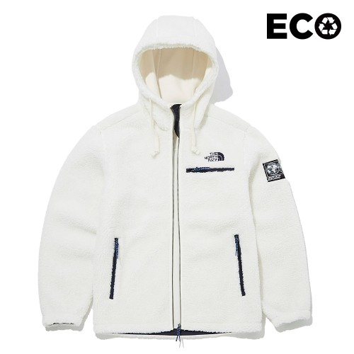 SAVE THE EARTH FLEECE HOODIE S