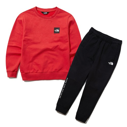 K'S SQUARE LOGO SWEATSHIRTS SET