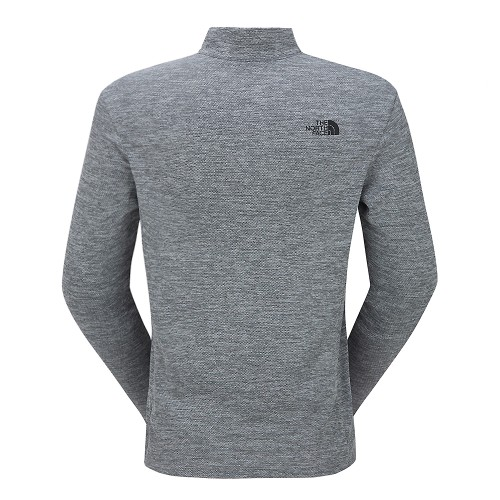 M'S TAKE A HIKE L/S ZIP TEE
