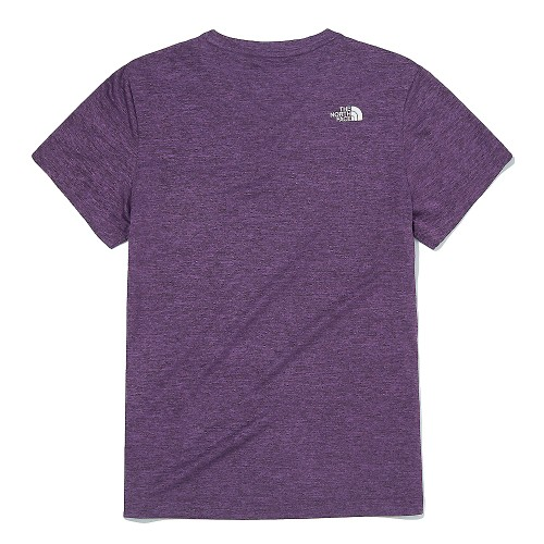 W'S RECOVERY PLUS V-NECK S/S R/TEE