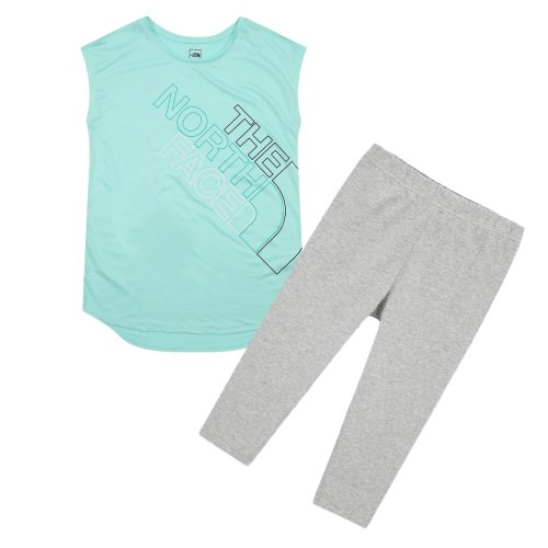 G'S SLEEVELESS LOUNGE WEAR SET