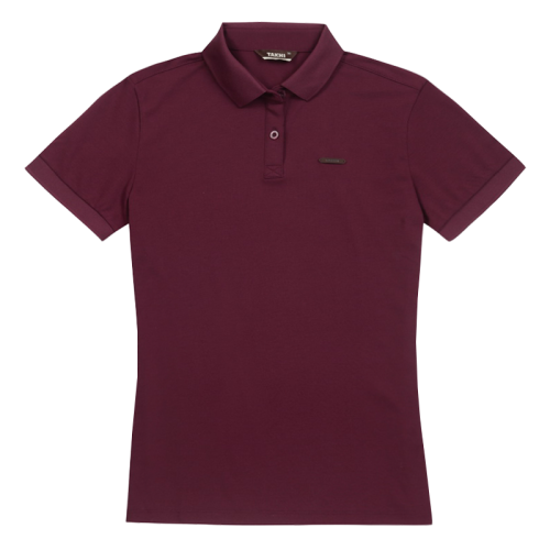 W'S CROSS POLO TEE